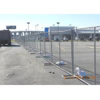 Quality Customized PVC Coated 4' 6' 8' Chain Link Fence Privacy Panels 60mmx60mm for sale