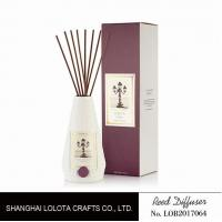Quality Portable Home Ceramic Scent Diffuser , Long Lasting Ceramic Reed Diffuser for sale