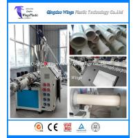Quality Conical PVC Pipe Production Machine Double Screw Extruders Custom Made for sale