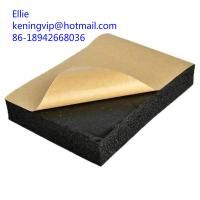 Quality PE closed-cell foam material/NBR rubber foam sheets for sale