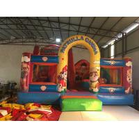 China Inflatable patrol paw themed fun city 2018 new inflatable patrol paw fun park jump with slide on sale on sale