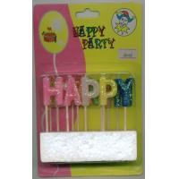 Quality happy birthday letter candles for sale