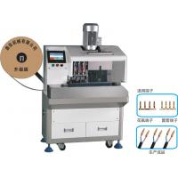 Buy cheap SPT Wire Stripping Vase Terminal Crimping Machine , Fully Automatic Wire from wholesalers