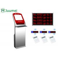 Buy Digital Signage Queue Ticket Dispenser Machine Led Counter Display at wholesale prices
