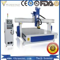 Quality Most popular high precision 4-axis CNC router TM1530-4axis.THREECNC for sale