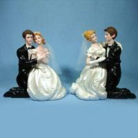 Quality Polyresin Craft, Suitable for Wedding Gifts, Holiday Gifts, Valentine Gifts, and Promotional Gifts for sale