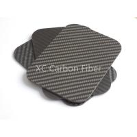 Buy cheap Discunt  Price 3k Carbon fiber twill matte sheet with factory  price from Wholesalers