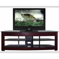 Buy cheap 60 Inch TV Media Stand Dark Solid Wood Large Loading Capacity 1500w*505d*680h from wholesalers