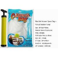 China Vacuum Storage Bag / Space Saving Bag with Hand Suction Pump (NBS-VB-N002) on sale