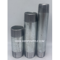 Quality Din2982 / Bspt / Npt Welded Male Threaded Pipe Nipples/Barrel Nipple for sale
