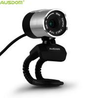 Quality Ausdom AW335 Plug And Play Adjustable Manual Focus Automatic Light Correction Flexible Stand HD 1080P Webcam With Mic for sale