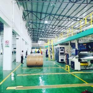 China Full Automatic Carton Plant Design Solution Corrugation & Finishing & Logistics on sale