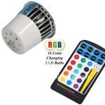 Quality Aluminum 100 - 240V 5W Warm White Environment friendly RGB LED Spotlight for sale