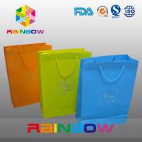Quality Promotion Cutom Color Printing Customized Paper Bags / Gift Bag grease proof paper bag for sale