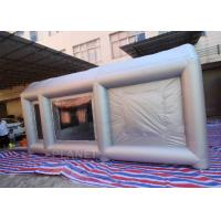 China 6m Long  Inflatable Spray Paint Tent With PVC Tarpaulin Or Oxford Cloth Material on sale
