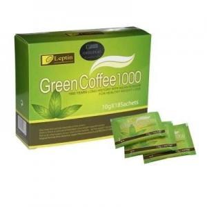 China Leptin Diet Green Slimming Coffee 1000 Leptin Green Slimming Coffee 1000 Effctive Weight Loss Slimming Green Coffee on sale