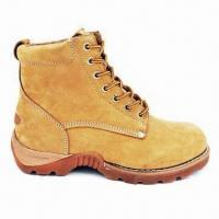 Quality Work Boots with Genuine Goodyear Welt with Cemented Heel Construction for sale