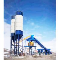 Quality 120m3 / H Forced Stationary Concrete Batching Plant Environmental Protection for sale