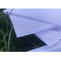 Quality High Strength Expanded Foam Sheet , White Kitchen Exterior Foam Board for sale