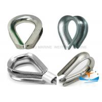 Quality Bright Surface Carbon Steel G414 Heavy Duty Wire Rope Thimble US Type Standard for sale
