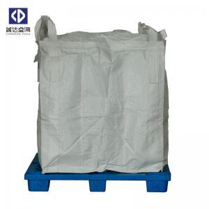 Quality Custom 1 Ton Jumbo Bag , FIBCPolypropylene Jumbo Bags For Cement Fertilizer for sale