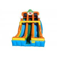 Quality Customized Size Large Inflatable Slide With Coloful Shape For Backyard for sale
