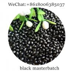 China carbon black PE carrier Black masterbatch plastic masterbatch plastic pigment  additive for sale