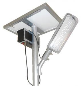Quality 90°Beam angle 24 volt 100 lumens per watt led Solar Street Light IP66 for roadway for sale