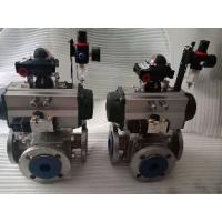 Quality Pneumatic ball valves actuator pneumatically operated ball valve for sale