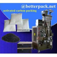 Quality activated carbon packets activated charcoal packaging machine in non woven bag for sale