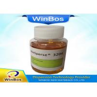 Buy Yellowish Paint Dispersant High Molecular Weight Increase Color Strength at wholesale prices