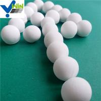 Quality High pressure resistance al2o3 alumina ceramic ball with high crushing strength for sale