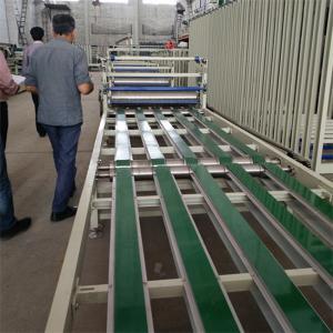 China Fireproof / Waterproof Fiber Cement Siding Sheet Assembly Line 1 Year Warranty on sale
