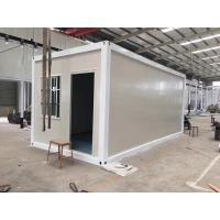 Quality Movable Steel Structure Expanding Container House Anti Seismic Eco Friendly for sale