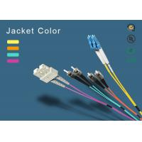 Buy SC fiber patch cord 100% insertion loss less <0.1dB Master Fiber Opitc Patch cord OM1,OM2,OM3,OM4 fiber optic junper at wholesale prices