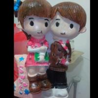 Quality Polyresin Wedding Favor BobbleHeads Promotional Gift for sale