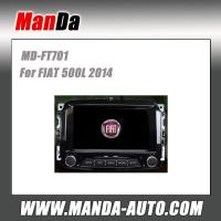 Quality Manda car dvd gps for FIAT 500L 2014 in-dash head unit touch screen dvd gps usb automobiles for sale