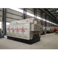China Horizontal Biomass Fired Steam Boiler Wood Pellets Boiler With Automatic Feeding Pellet Stove on sale
