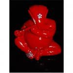 Quality Hindu God,Ganesha figurine;ganesha crafts;plating golden ganesha for sale