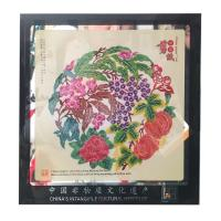 China hot sale Chinese Handmade Shadow Crafts Business Etiquette gifts  china gift beautiful flower gift on sale