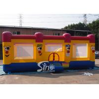 Quality Big clown kids inflatable jumping castle with ball pit complying with Australia standard for outdoor playground for sale