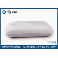 Buy cheap Softest Travel Size Classic Memory Foam Pillow Neck Support With High Density from Wholesalers