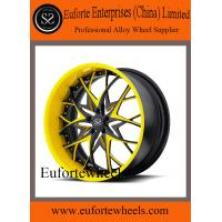 Quality 19'' / 20'' / 21'' / 22'' heavy duty 2 piece forged wheels for Lamborghini / Porche / Ferrari for sale