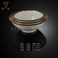 Quality Melamine Tableware brown rice bowl plastic bowl round bowl for sale