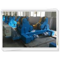 Quality Self-aligned Pipe Turning Rolls Bed Tank Pipe Vessel Seam Welding , 80T for sale