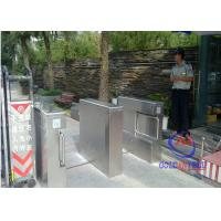 China Water proof stainless Swing Barrier Gate , Swimming Hall swing arm barrier on sale