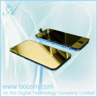 Quality Gold Plating Mirror LCD Digitizer Back Housing Full Assembly For iPhone 4G for sale