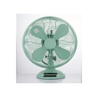 Copper 3 Speed 12 Inch Vintage Electric Fan CE CB 35W 4 Blade For Home