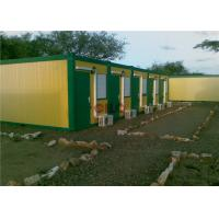 Quality Heatproof Prefabricated Accommodation Building With Electricity System for sale