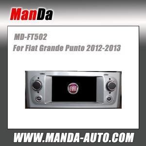 Quality Manda car gps for Fiat Grande Punto 2012-2013 in-dash head unit touch screen dvd gps automobiles for sale